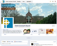 Christ Covenant Facebook Page